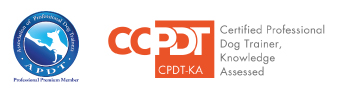 Kelly Fox Dog Training CDTP KA Logo
